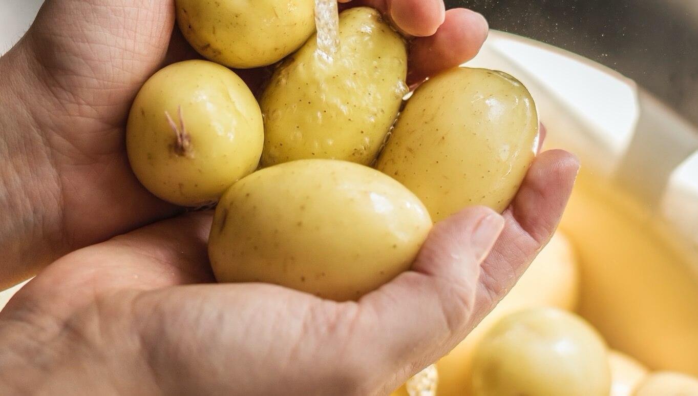 patates-yıkama